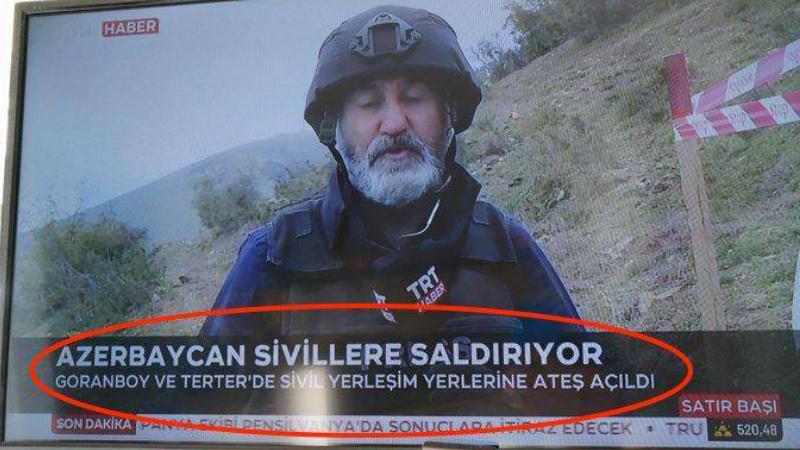 Թուրքական հեռուստաալիքը հեռացրել է սխալմամբ ճշմարտությունը ներկայացրած աշխատակցին.  Ermenihaber