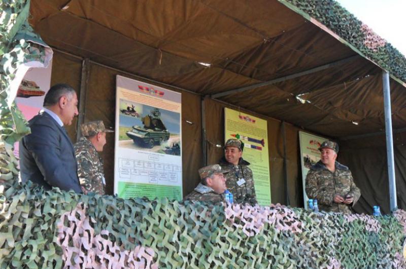 ՀՀ ԶՈՒ Գլխավոր շտաբի պետը հետևել է ռազմական տեխնիկայի փորձարկումներին