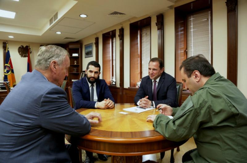 Դավիթ Տոնոյանը ամերիկյան Ատլանտյան Խորհրդի պատվավոր նախագահին ներկայացրել է տարածաշրջանում անվտանգային իրավիճակը