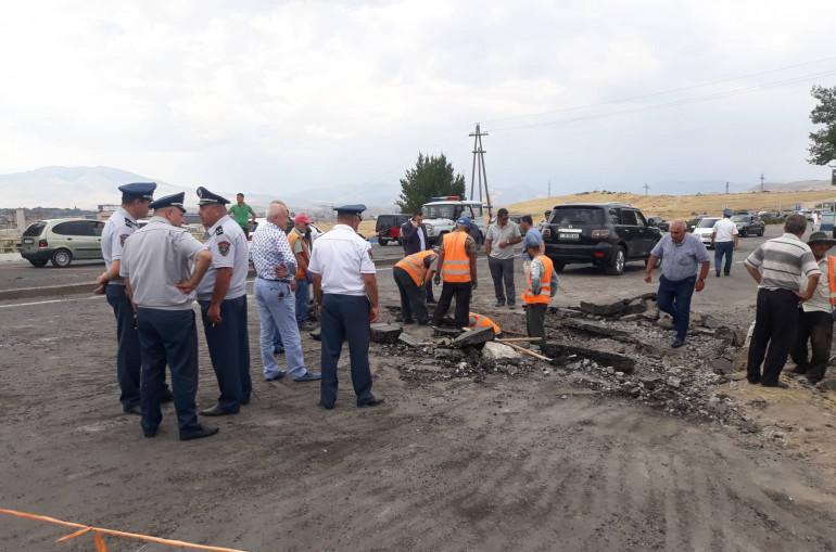ՔԿ-ն ներկայացրել է Երևան-Սևան մայրուղում տեղի ունեցած պայթյունի և դեպքի վայրի եռաչափ մոդելավորումը (տեսանյութ)