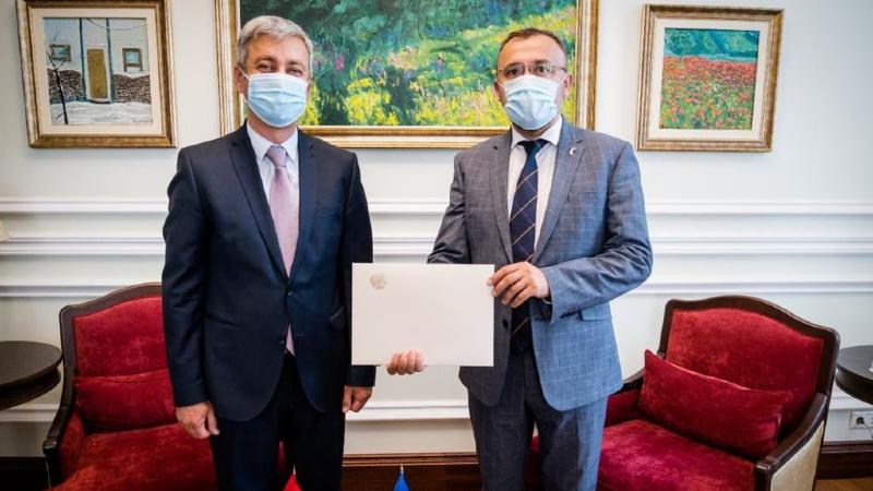 Ուկրաինայում ՀՀ դեսպանը հանդիպել է Ուկրաինայի ԱԳՆ ղեկավարության հետ