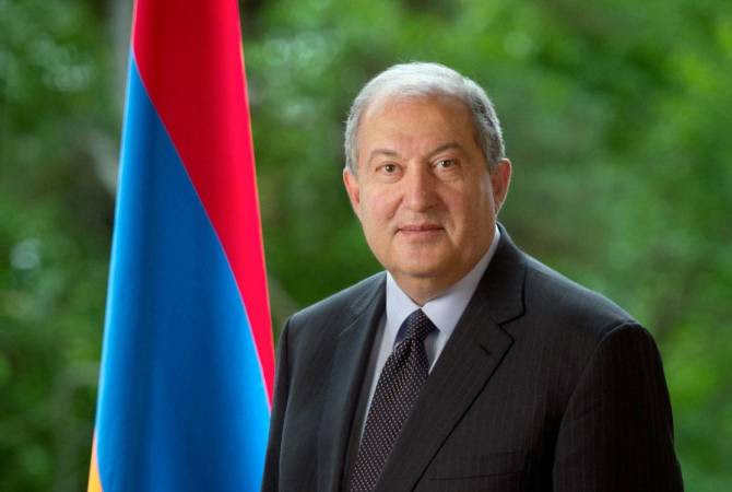 Արմեն Սարգսյանը շնորհավորել է Նուրսուլթան Նազարբաեւին ծննդյան օրվա առթիվ