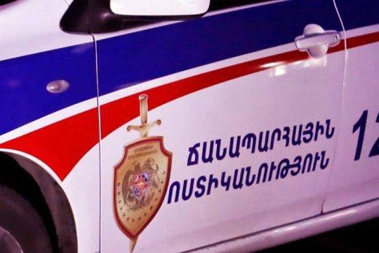 За сутки в Армении произошло 9 ДТП: один погибший, 15 пострадавших