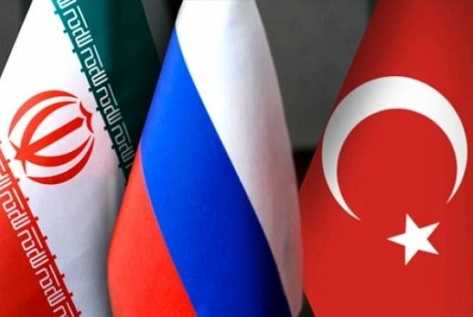 Ռուսաստանի, Իրանի և Թուրքիայի ԱԳ նախարարների հանդիպումը տեղի կունենա Աստանայում