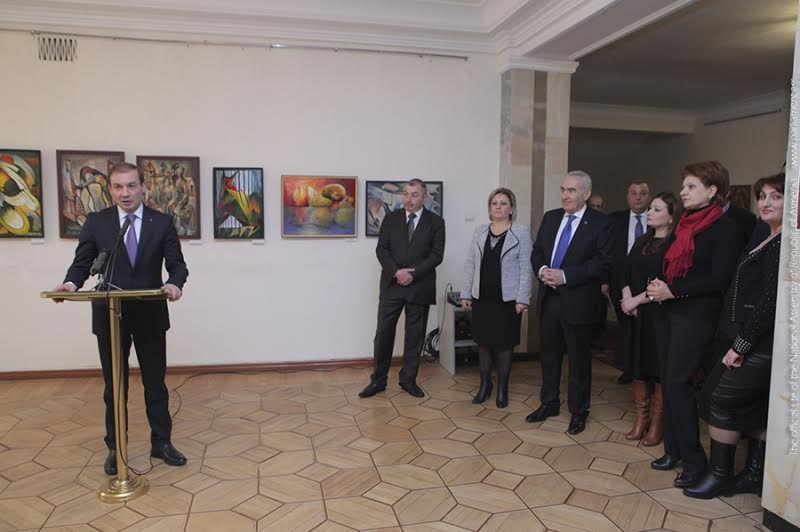 Նպատակ կա Երևանում ստեղծել Առնո Բաբաջանյանի թանգարան. ԱԺ-ում ցուցահանդես է բացվել