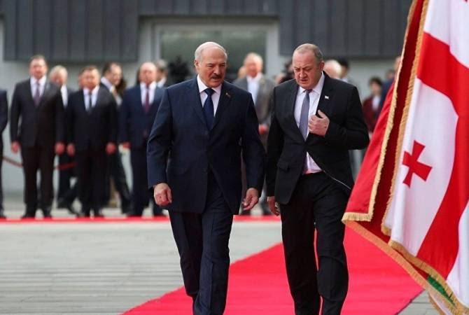 Բելառուսի նախագահը պաշտոնական այցով ժամանեց Վրաստան