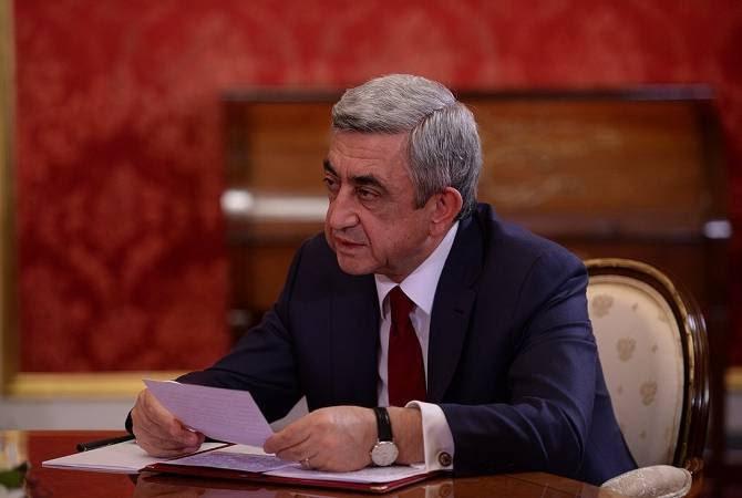 ՀՀԿ խմբակցության նիստին մասնակցել է Սերժ Սարգսյանը