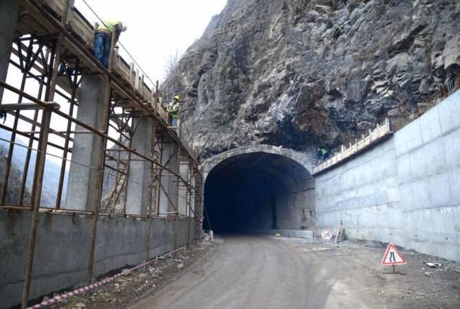 Վանաձոր-Ալավերդի ավտոճանապարհի 24-րդ կմ-ի մոտակայքում գտնվող թունելը շինարարական աշխատանքների պատճառով շարունակում է փակ մնալ