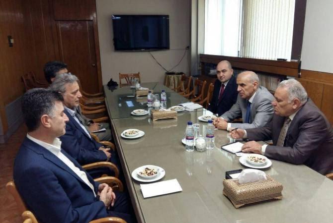 Իրանում ՀՀ դեսպանն այցելել է Թեհրանի համալսարան