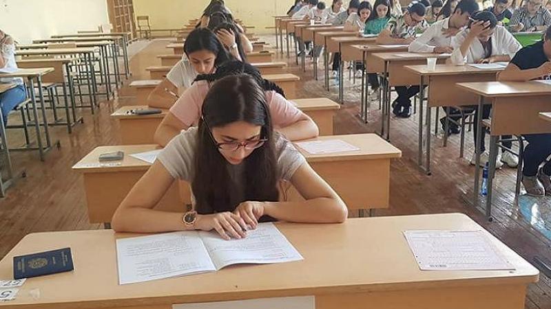 Երեւանում ու մարզերում մեկնարկել են միասնական քննությունները. այսօր օտար լեզվի քննության օրն է