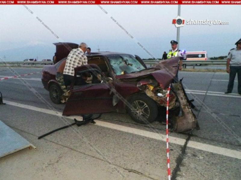 Ողբերգական վթար Մխչյանում. Opel-ում հայտնաբերվել է 2 դի. Վարորդի վիճակը ծայրահեղ ծանր է. Shamshyan.com