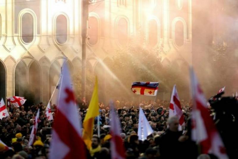 Թբիլիսիում հանրահավաքը դուրս Է եկել օրենքի շրջանակից. Վրաստանի ՆԳՆ
