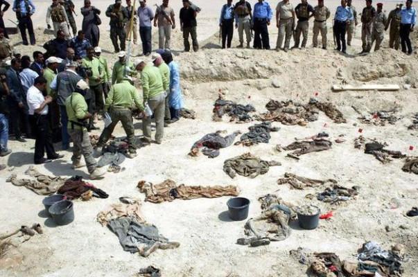 Իրաքում ԻՊ-ի զոհերի զանգվածային գերեզմանոց է հայտնաբերվել