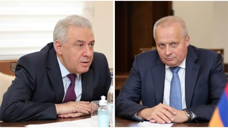 Վաղարշակ Հարությունյանն ու Սերգեյ Կոպիրկինը քննարկել են հայ-ռուսական համագործակցության հետ կապված հարցեր