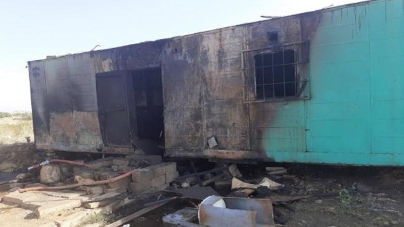 Կոշ-Նոր Եդեսիա ավտոճանապարհին վագոն-տնակ է այրվել․ տուժածներ չկան