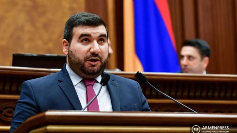Դուք կողմ եք քվեարկել այդ օրենքին, որովհետև հավատացել եք, որ Շուռնուխից այն կողմ գտնվում է Ադրբեջանը. Վահագն Ալեքսանյանը՝ ընդդիմությանը (տեսանյութ)