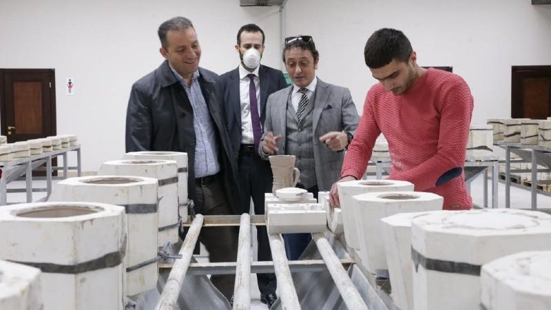Վահան Քերոբյանն այցելել է Ceramisia կերամիկական սպասքի արտադրության հայ–իտալական ընկերություն