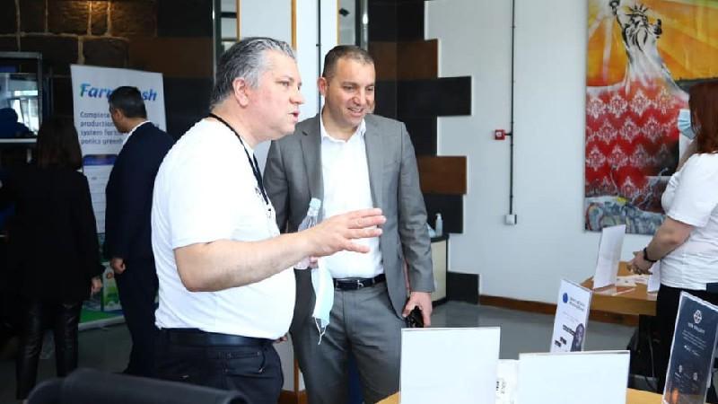 Վահան Քերոբյանը Գյումրիում մասնակցել է ժամանակակից «Դիստրիկտ» թաղամասի հիմնադրման մեկնարկի միջոցառմանը