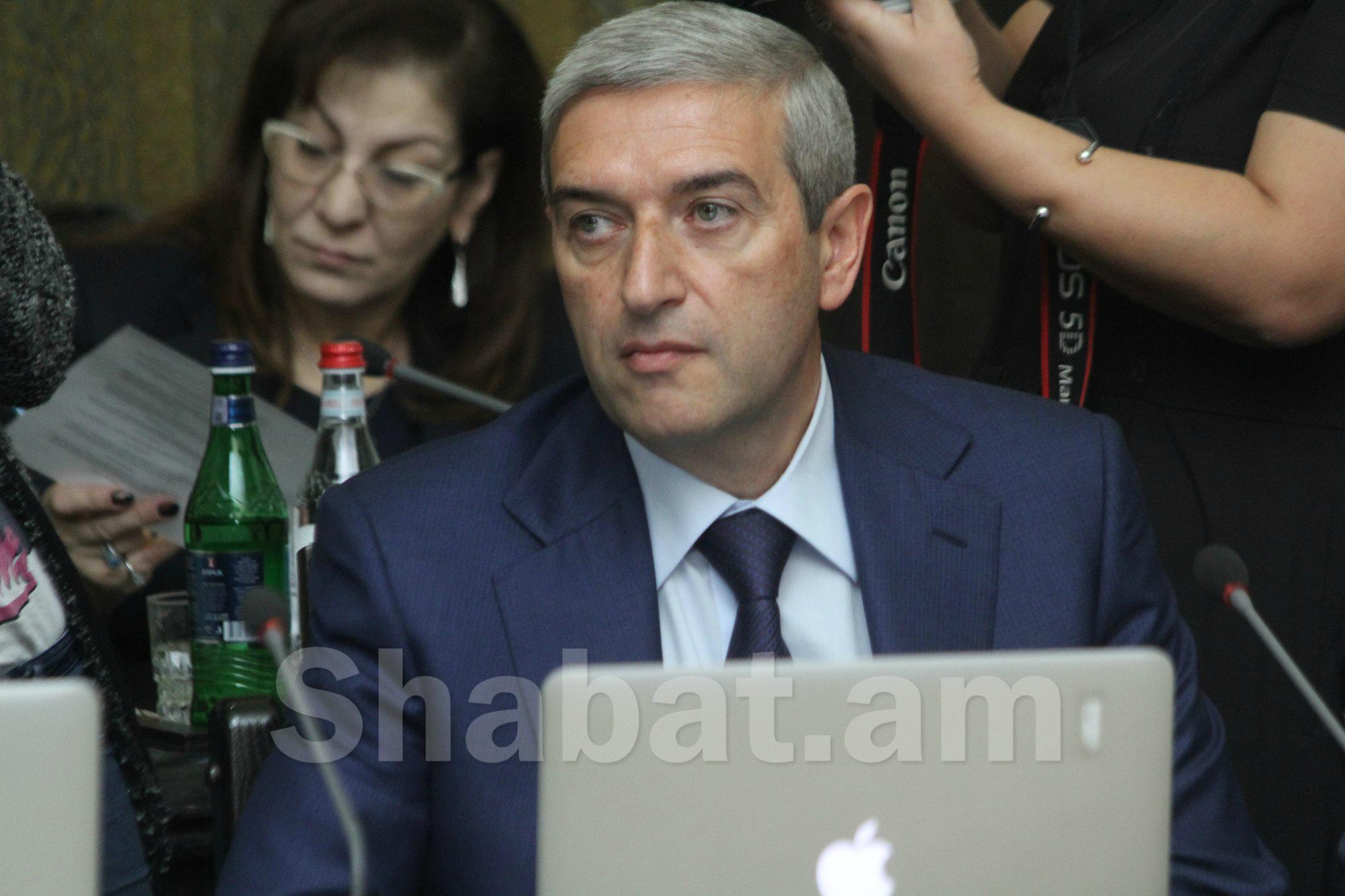 Իմ պաշտոնավարման ընթացքում որևէ ծրագիր չի տապալվել. Վահան Մարտիրոսյան
