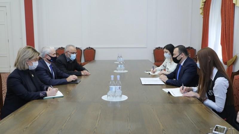 ԱԺ փոխնախագահը հանդիպել է Հայաստանում ՄԱԿ-ի մշտական համակարգողի հետ