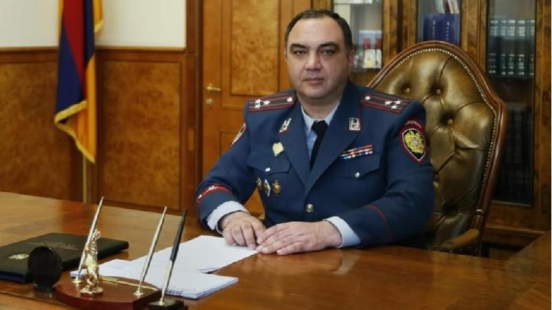 ՀՀ ոստիկանության պետի շնորհավորական ուղերձը ՃՈ կազմավորման 85-ամյակի առթիվ