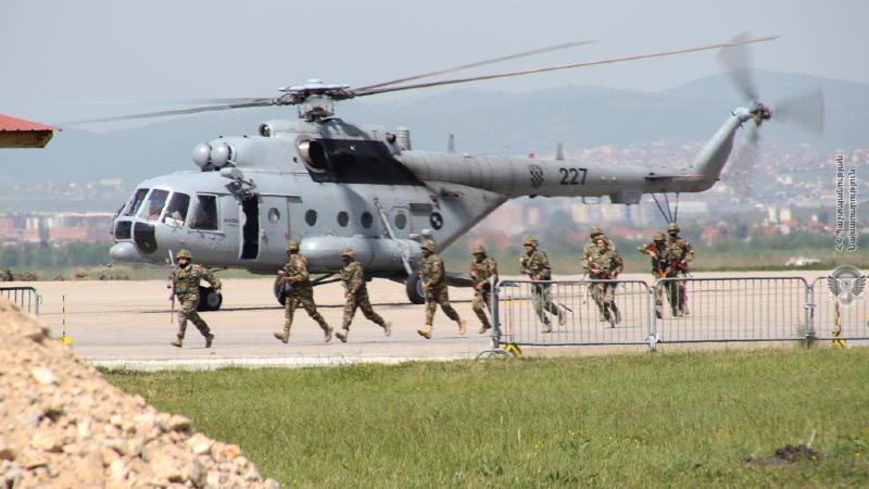 Կոսովոյում խաղաղապահ առաքելություն իրականացնող հայկական զորախմբի զինծառայողները վարժանքներ են անցկացրել