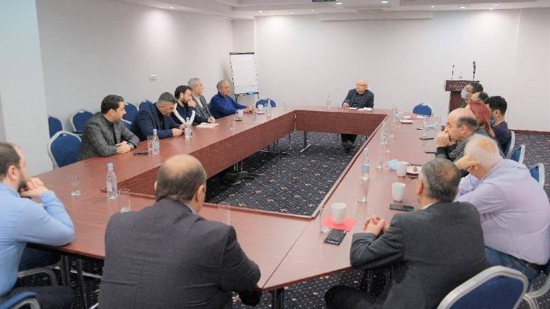 Վազգեն Մանուկյանը հանդիպել է ՏՏ ոլորտի 15 առաջատար ընկերությունների ղեկավարների հետ