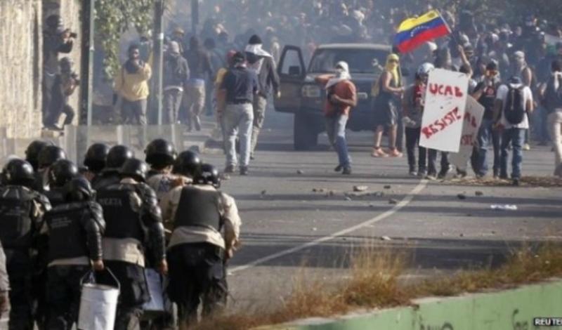 Վենեսուելայում բախումներ են տեղի ունեցել ընդդիմության և կառավարության աջակիցների միջև