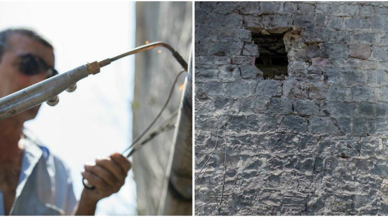 Հրետանակոծությունից տուժած բնակավայարերում վերականգնման աշխատանքները մեկնարկել են (լուսանկարներ)