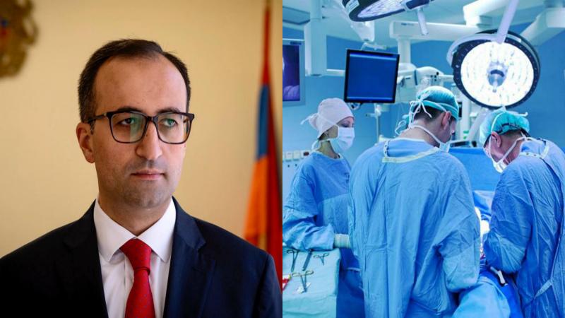 2019-ին պետական պատվերով չարորակ վիրահատությունների թիվը նախորդ տարվա համեմատ աճել է 3449-ով․Արսեն Թորոսյան