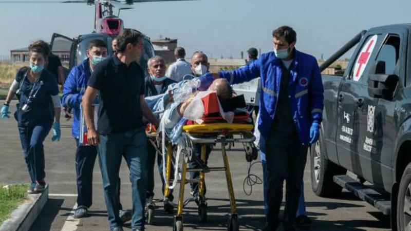 Շուշիում վիրավորված ռուսաստանցի լրագրողները Մոսկվայում են