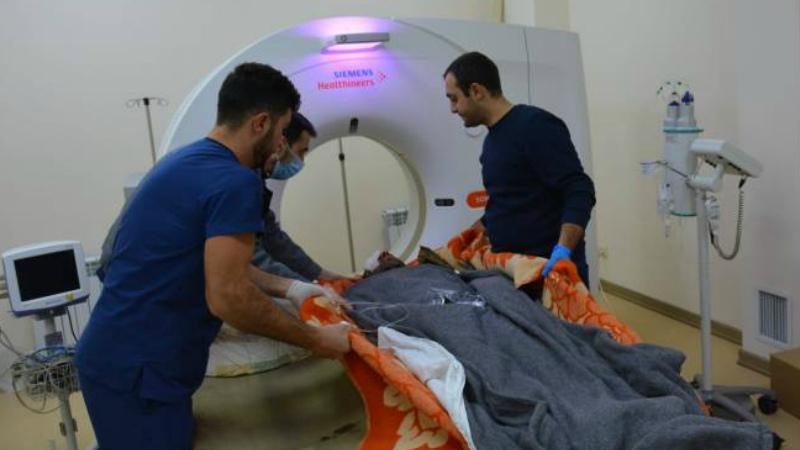 Լեռնային Ղարաբաղում ականի պայթյունի հետևանքով վիրավորված փրկարարների կյանքին վտանգ չի սպառնում