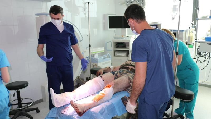 Ջրականի շրջանում ականապայթյունային վիրավորում է ստացել ԱԻՊԾ օպերատիվ խմբի հրամանատարը
