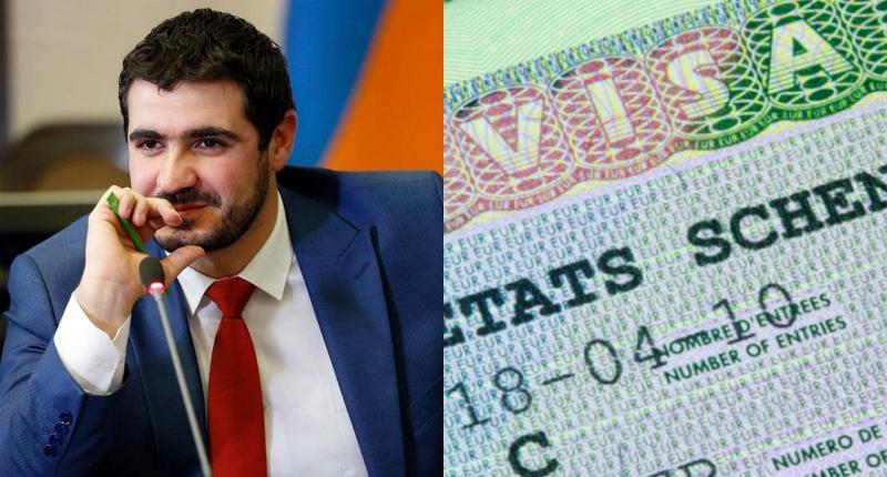 «Շենգենյան գոտու երկրներ կարճաժամկետ մուտքի վիզայի գնի ընդհանուր թանկացումը Հայաստանին չի վերաբերում»․ ԱԺ պատգամավոր