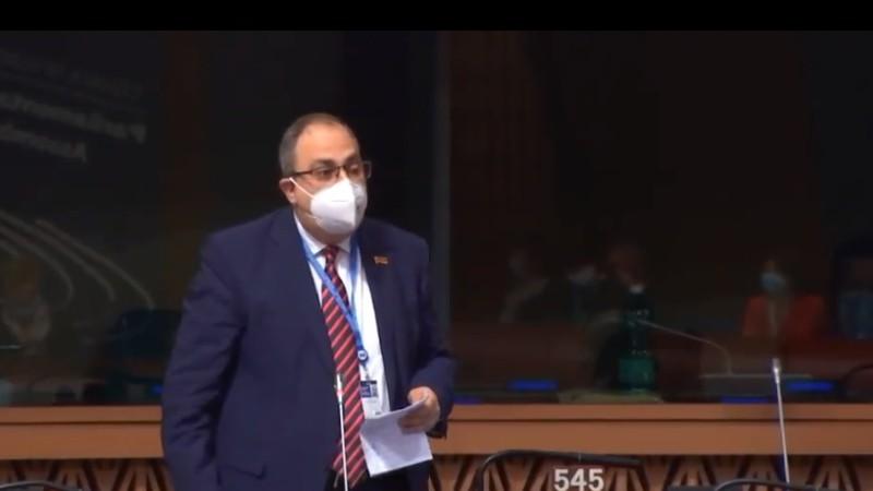 Ադրբեջանում պահվող հայ ռազմագերիների կյանքին վտանգ է սպառնում. Վլադիմիր Վարդանյանի ելույթը ԵԽԽՎ-ում (տեսանյութ)