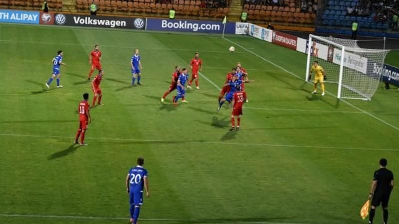 Հայաստան-Լիխտենշտեյն խաղն ավարտվեց 1:1 հաշվով