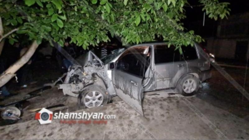 Ողբերգական դեպք Արմավիրի մարզում. 58–ամյա վարորդը Nissan X-Trail-ը վարելիս հանկարծամահ է եղել և բախվել ընկուզենուն. ուղևորը տեղափոխվել է հիվանդանոց