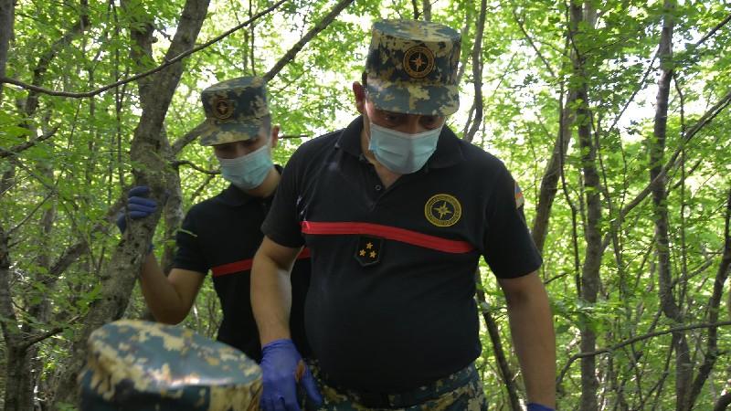 Զինծառայողների աճյունների որոնողական աշխատանքները շարունակվում են Մատաղիսում