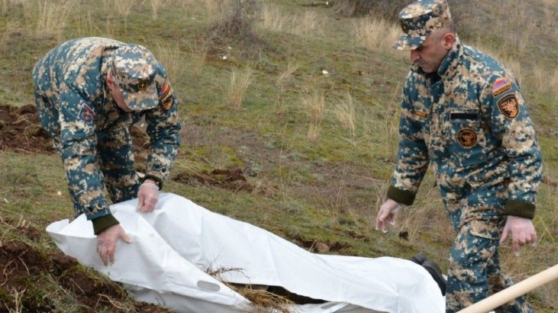 Մատաղիսի և մարտական գործողությունների հարավային հատվածներում հայտնաբերվել է 4 զինծառայողի աճյուն