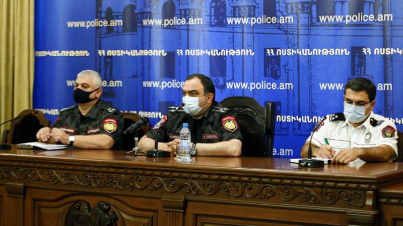Վահե Ղազարյանը ներկայացրեց ոստիկանության պետի նորանշանակ առաջին տեղակալին ու շտաբի պետին