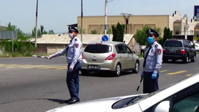 Ոստիկանությունն ուժեղացված ծառայություն է իրականացնում հսկիչ-անցագրային կետերում (տեսանյութ)