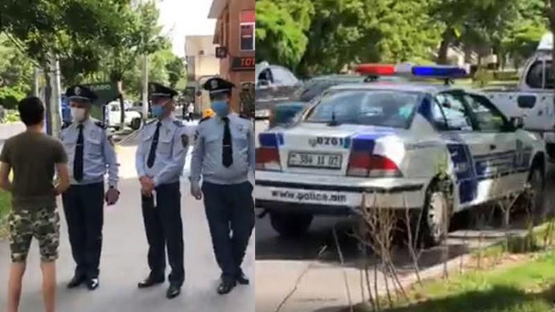 Ոստիկանության ուժեղացված ծառայություն Դավիթաշենում (տեսանյութ)
