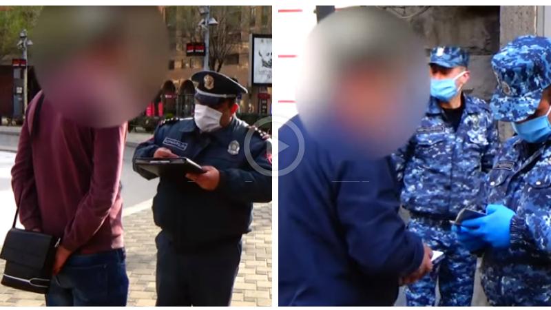 Ժամը 19-ի դրությամբ, 78 անձի նկատմամբ կազմվել է վարչական իրավախախտման վերաբերյալ արձանագրություն․ ոստիկանություն (տեսանյութ)