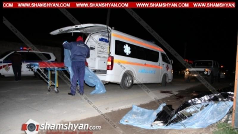 Մահվան ելքով վրաերթ Արամուս գյուղում. 34-ամյա վարորդը ոչ սթափ վիճակում վրաերթի է ենթարկել ՀՀ ՊՆ 6 ծառայողի ու դիմել փախուստի, 2-ը տեղում մահացել են