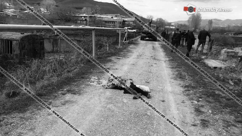 Վանաձոր քաղաքում 36-ամյա վարորդը КамАЗ-ով վրաերթի է ենթարկել հետիոտնին. վերջինս տեղում մահացել է