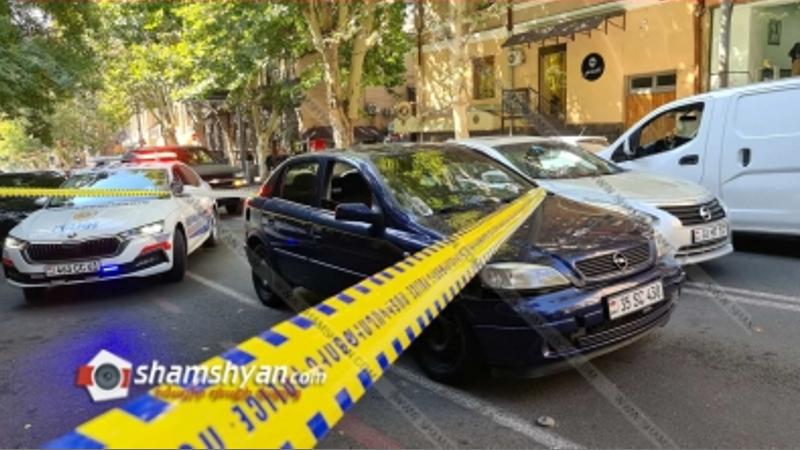Opel-ը Տերյան փողոցում վրաերթի է ենթարկել փողոցը չթույլատրելի հատվածով անցնող հետիոտնին