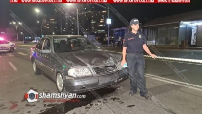 Երևանում Mercedes-ի վարորդը Հրազդան տոնավաճառի դիմաց վրաերթի է ենթարկել 3 հետիոտնի. նրանք հոսպիտալացվել են