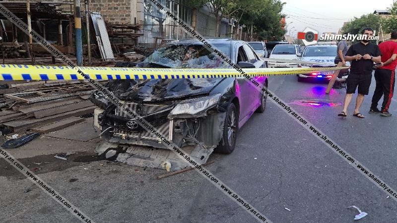 Վրաերթ-ավտովթար Երևանում. վիրավորներից 2-ի վիճակը գնահատվում է ծանր