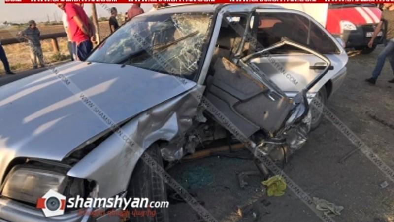 Ողբերգական ավտովթար Արարատի մարզում. հիվանդանոցի ճանապարհին վիրավորներից մեկը մահացել է
