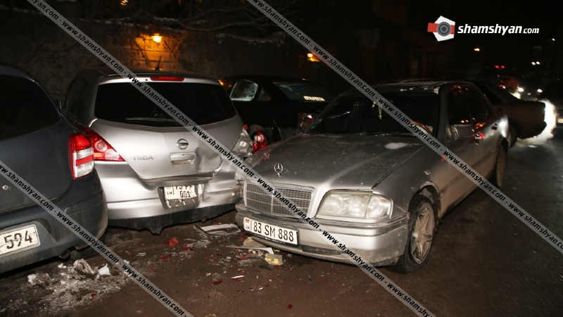 Շղթայական ավտովթար Երևանում. «Հին Ջրվեժ» ռեստորանի դիմաց բախվել են 9 ավտոմեքենա